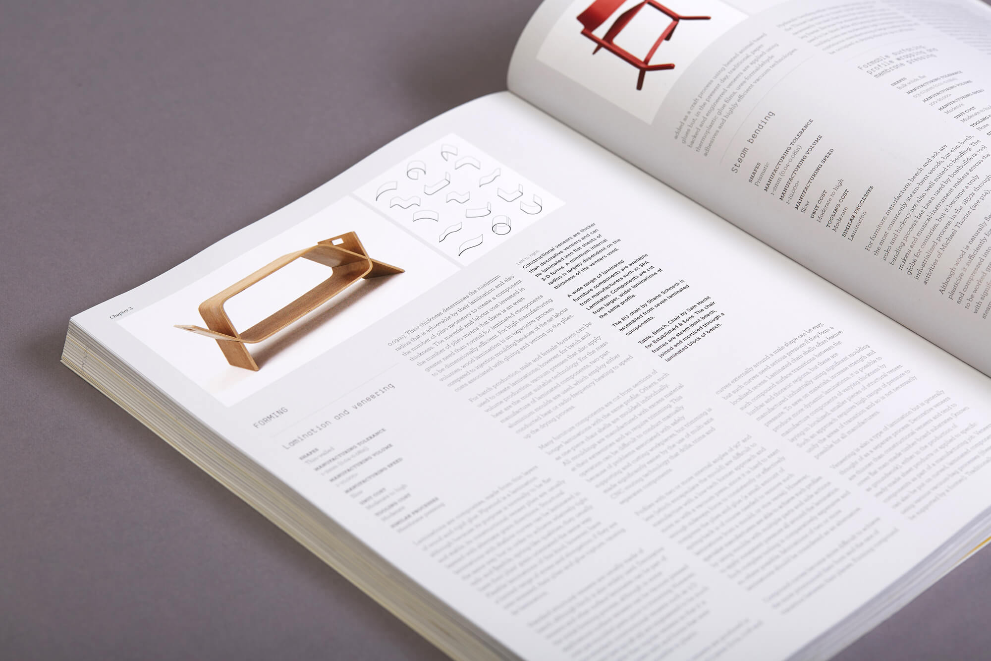 Furniture Design book - reference section - TwoSheds Design