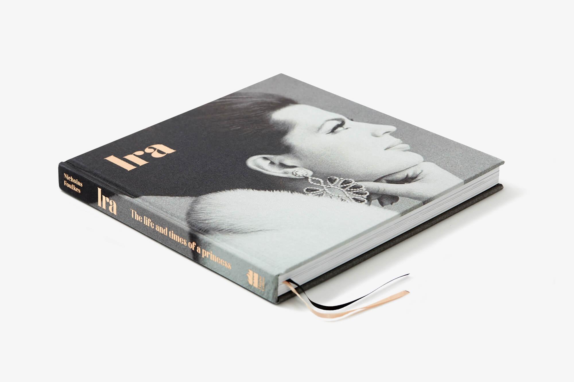 Ira - book cover design